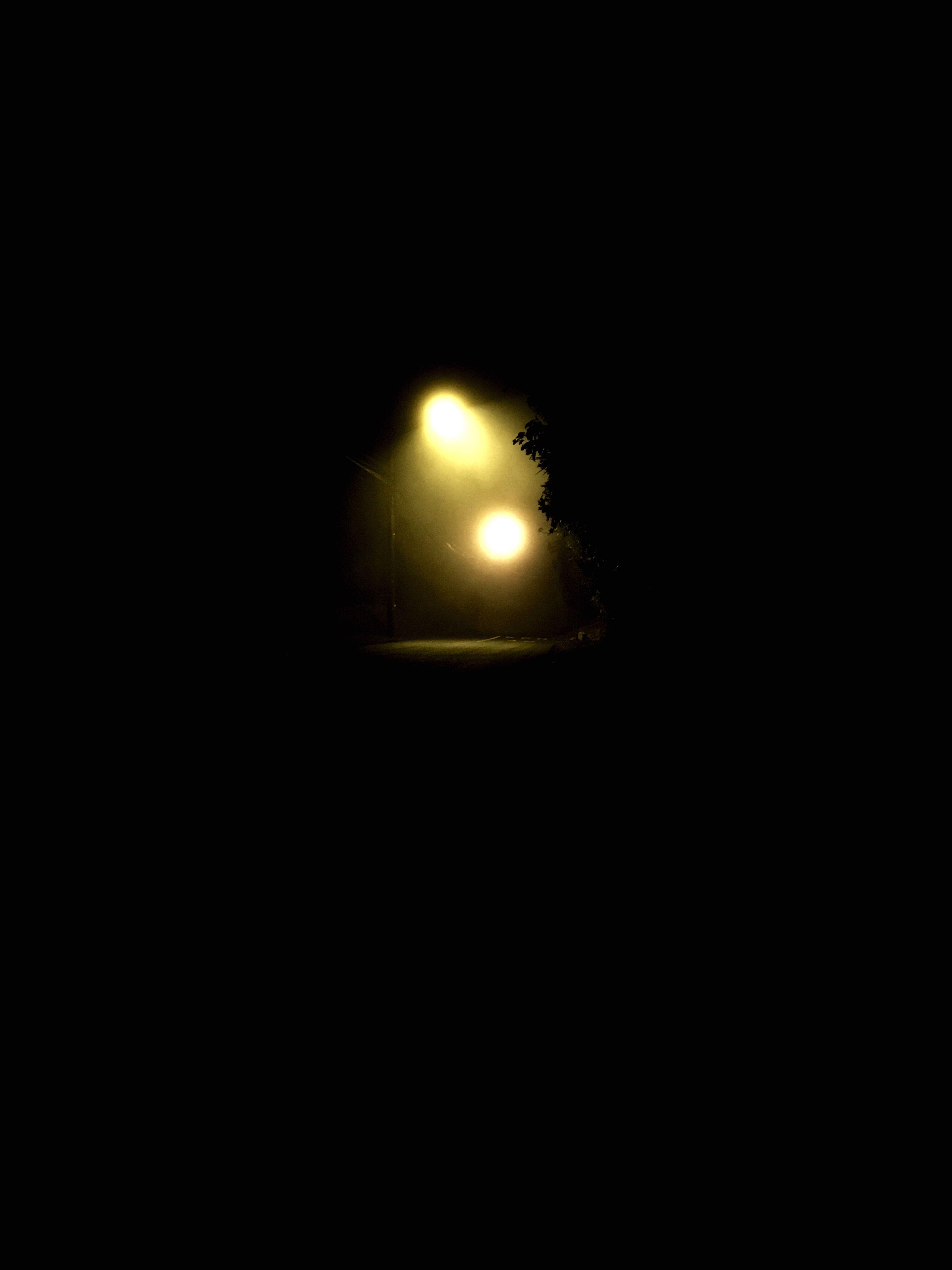 Las mejores noches son así de oscuras y te permiten pensar demasiado 😌 Nightphotography First Eyeem Photo