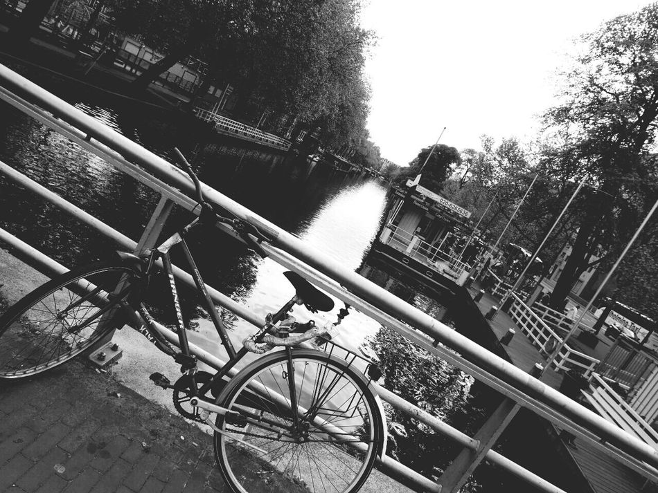 CyclingUnites Holland❤ Canal Monochrome Photography Holiday Trip Outdoors Dutch Cities Dutch Canals Dutch Photographer