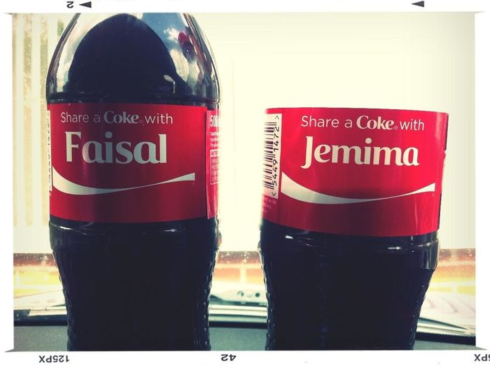 Does anybody know these pair? #Equality #CokeShare