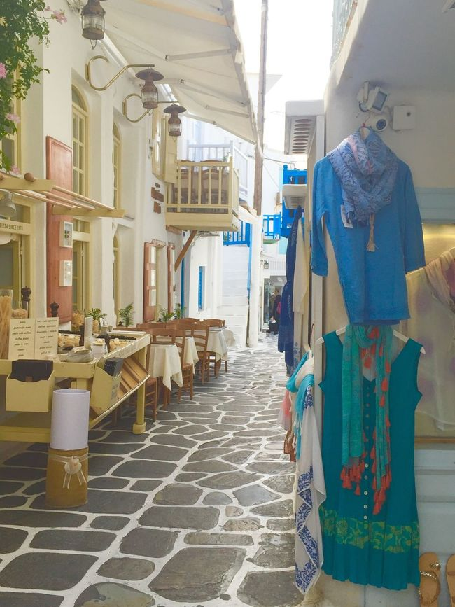 city greece Building Exterior Outdoors Market Store 休暇 Hello World Built Structure Greece island Greek mykonos Street island small small street Suits  blue White 島 ミコノス ギリシャ 小さなとおり チャーミング Charming charming house Preatty