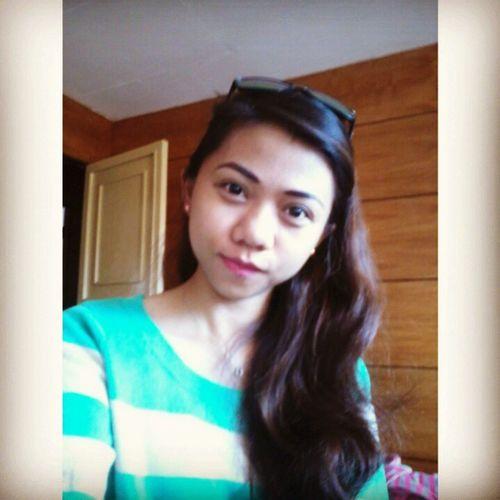 Just feel pretty this day (^_^) Eyesbags Nosleepfromwork Selfie Feelingme POTD Lateupload