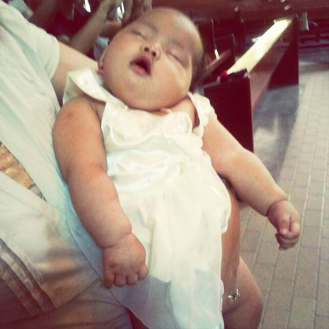 my cute inaanak! Happy Christening Baby :)