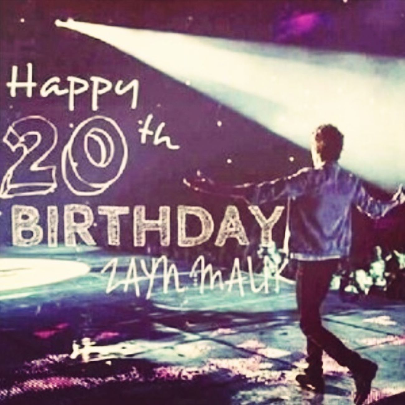 Happy Birthday Zayn !! :)x