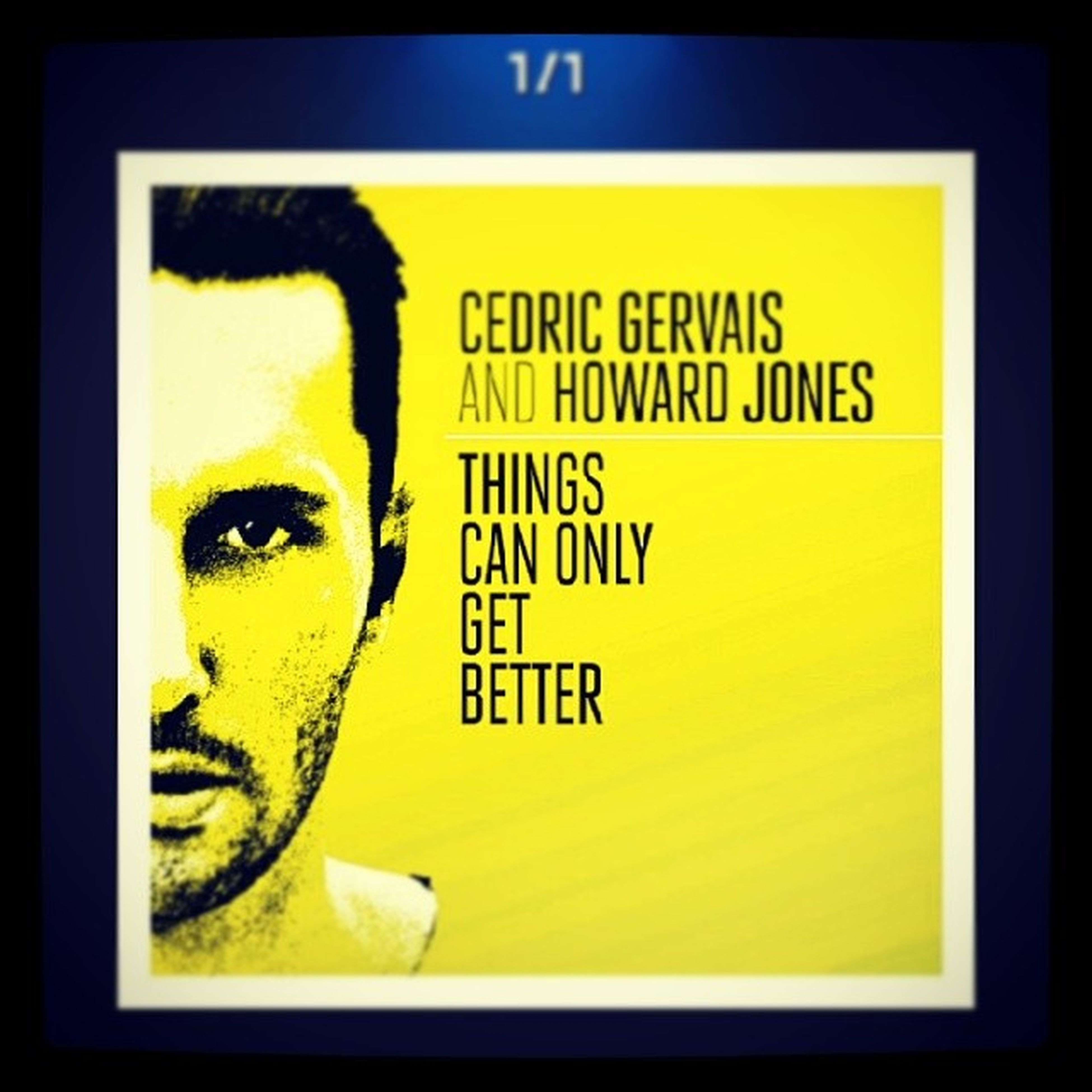 Song of the week: Things Can Only Get Better by Cedric Gervais and Howard Jones. Im going to start posting a song every Sunday describing how the week went. Songsunday Edm Music Goodweek