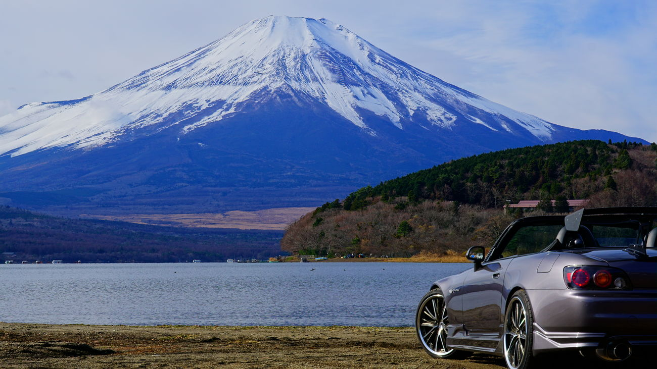 Mt.Fuji First Eyeem Photo Honda Honda S2000 S2000 Car Mt.Fuji Yamanaka Lake Yamanaka Lake Of Japan Lake Yamanaka Japan