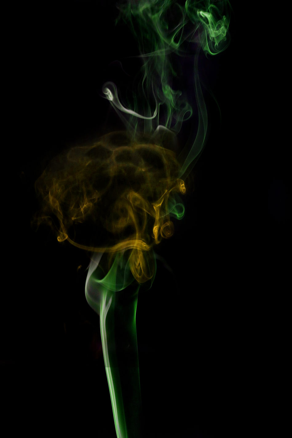 Abstract art. Color white blue smoke from the aromatic sticks on a black background. Background for Halloween. Texture fog. Design element. The concept of aromatherapy. Abstract Back Backdrop Backgrounds Beauty In Nature Black Background Cigatette Close-up Colorful Dissolving Gas Green Color Motion No People Orange Smoke - Physical Structure Studio Studio Shot Urban Wabv Wave