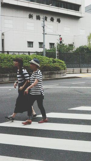Street Photography Japan Street Stripes Crosswalks