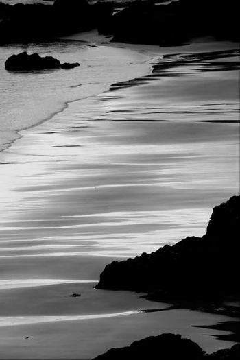 Beach Monochrome Shades Of Grey Patterns Nature Scotland Lifeasiseeit John Nelson Johnnelson