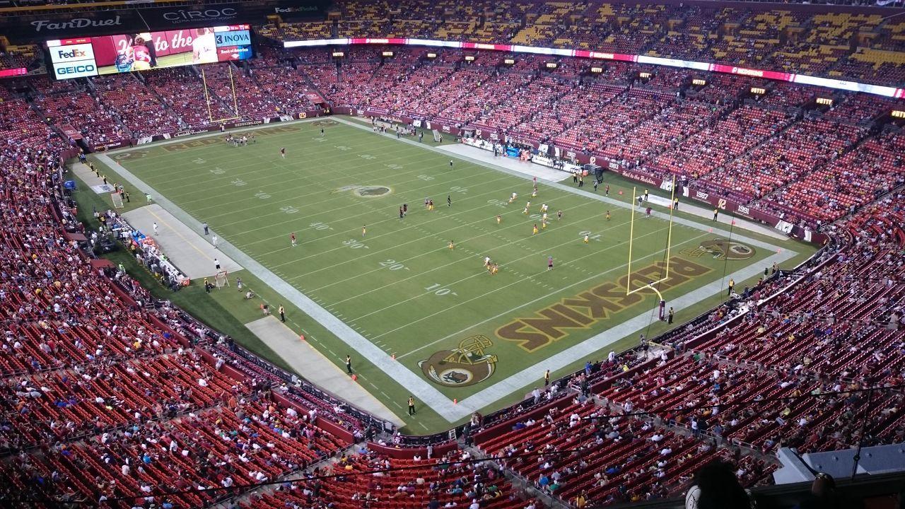 Redskins Redskinsnation NFL NFL Football Fedex Field Preseason Preseason 2016 Week 2 Vs Ny Jets NY Jets Washington, D. C. Landover, MD