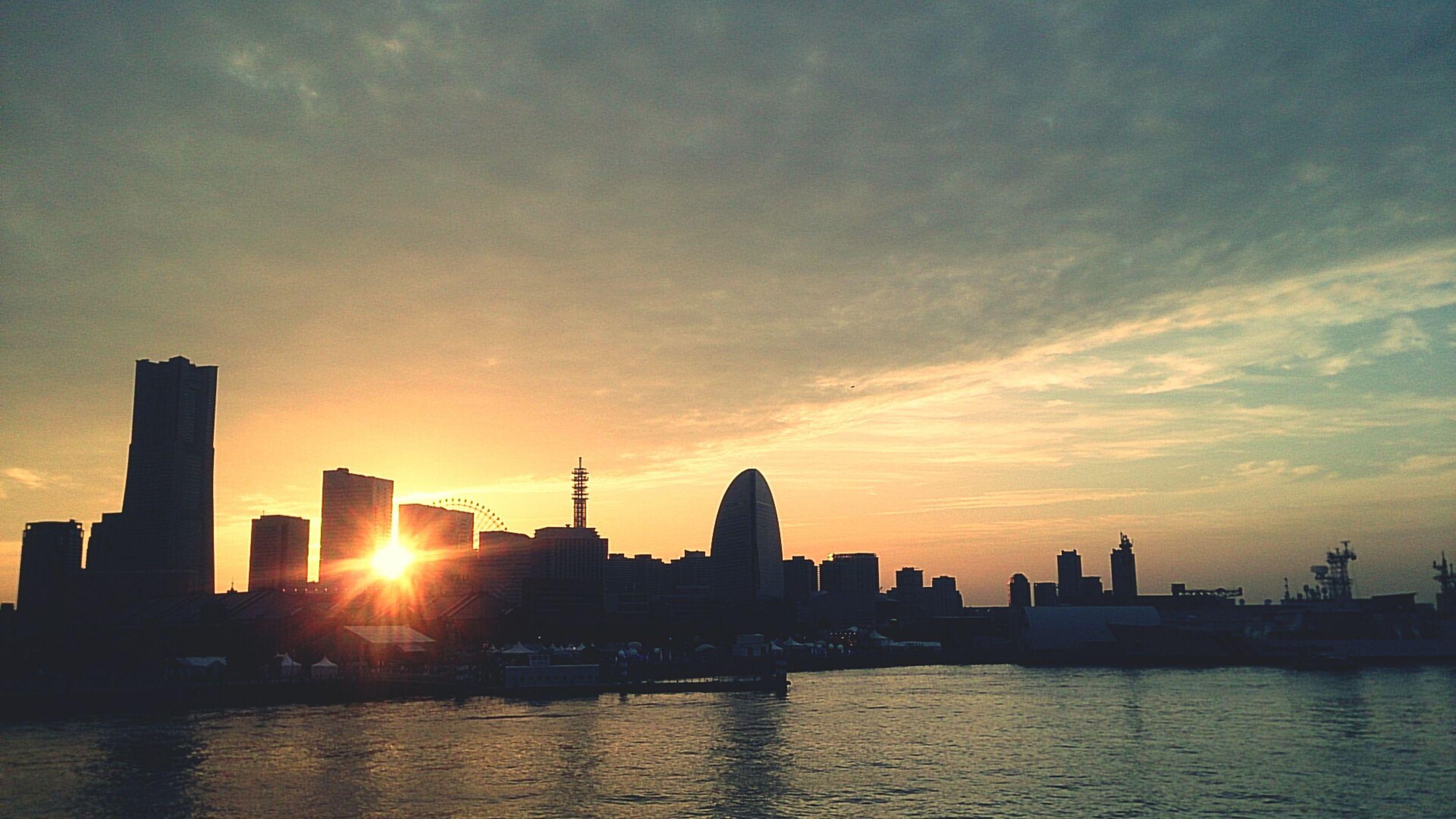 よこはま Yokohama Sunset First Eyeem Photo