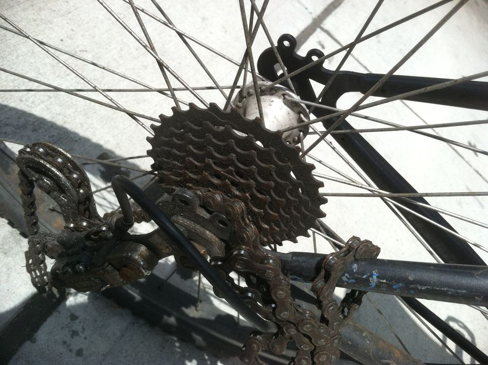 Abstract Abstract Art Abstraction Abstractions Bicycle Bicycles Bicycling Bike Bike Chain Bikes Biking Chain Chains Gear Gears Metal Metal Art Object Objects Spoke Spokes Wheel Wheels Wire Wires