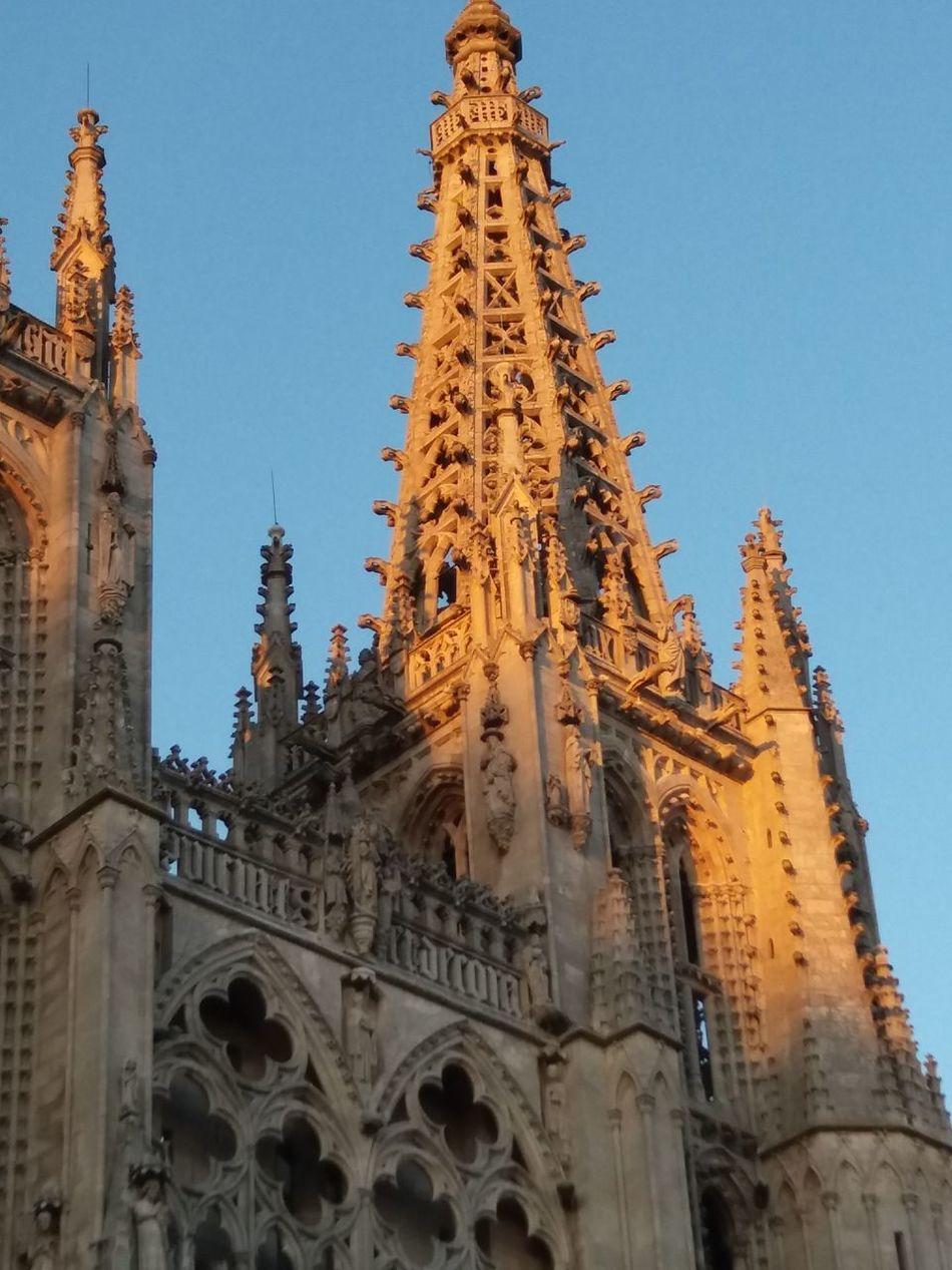 Cathedral Burgos Catedral De Burgos Stone Gigant