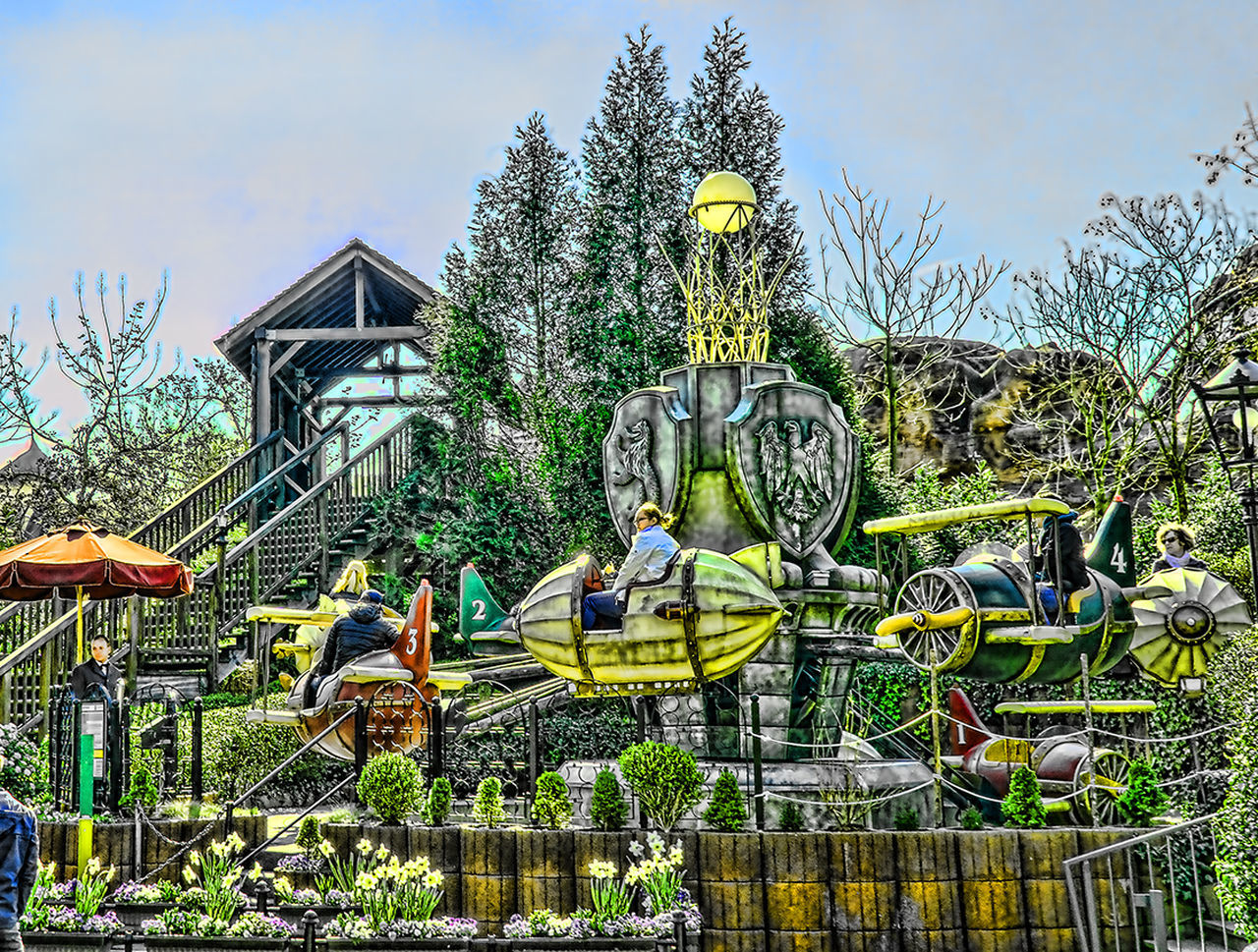 Phantasialand Amusement Parks Art Attraktion Craft Creativity Freizeitpark Green Color Hdrphotography Nature Phantasialand Pretpark Sculpture