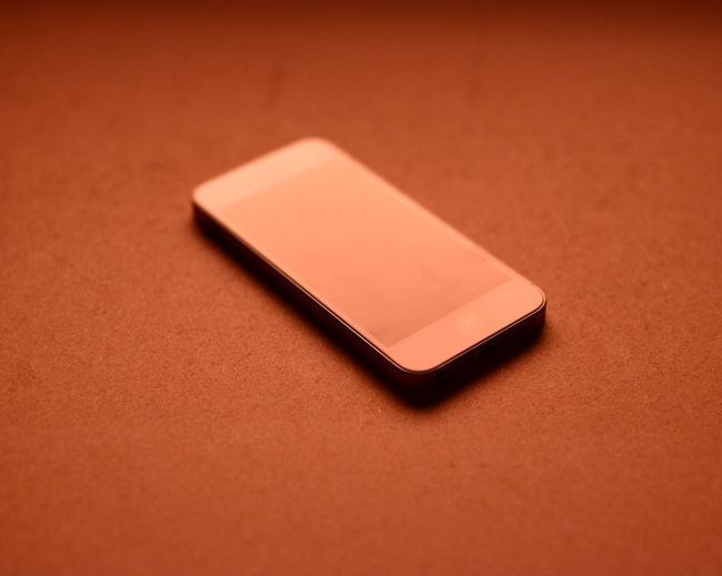 Close-up Geometric Shape Indoors  Man Made Object Mobile Phone No People Orange Color Red Single Object Still Life Vibrant Color