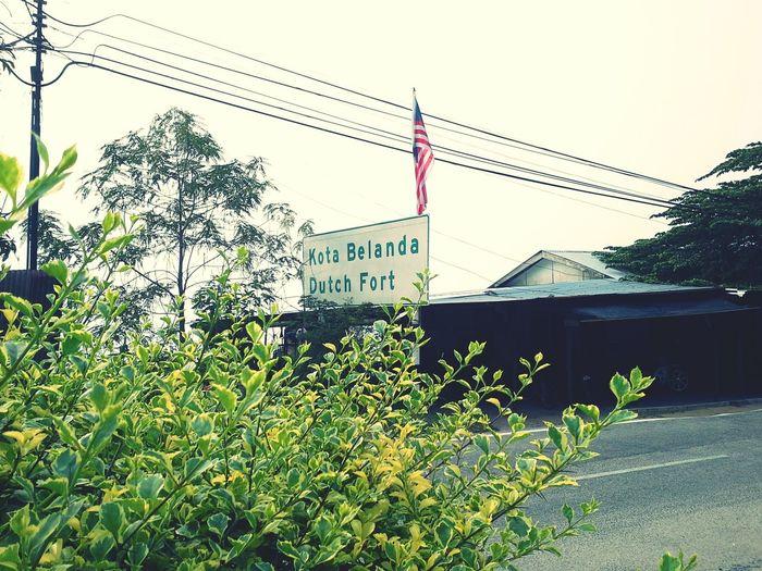 Kota Belanda (Dutch Fort) Pangkor Island Perak Jalanjalanperak EyeEm Malaysia Cuti Cuti Malaysia Vacation Time 2015Trip By Ismi_zuehaira
