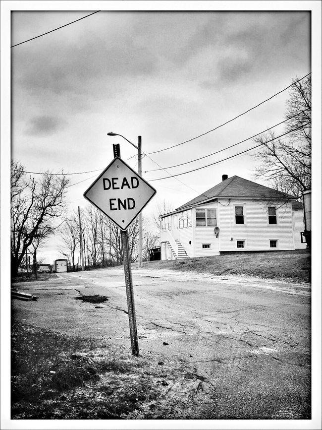 Dead End Blackandwhite Photography Blackandwhite Hull, Massachusetts Street Photography AMPt_community NEM Mood