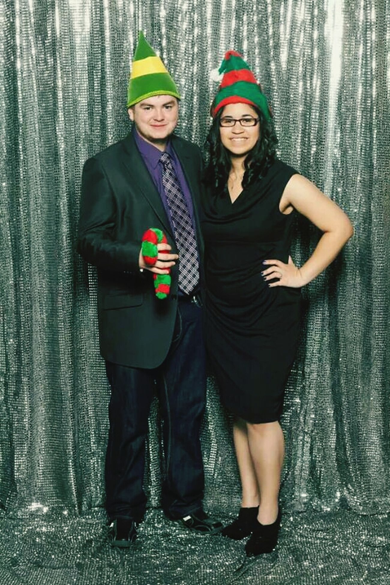 Matt & I at my Christmas party a couple weeks ago :) Elf