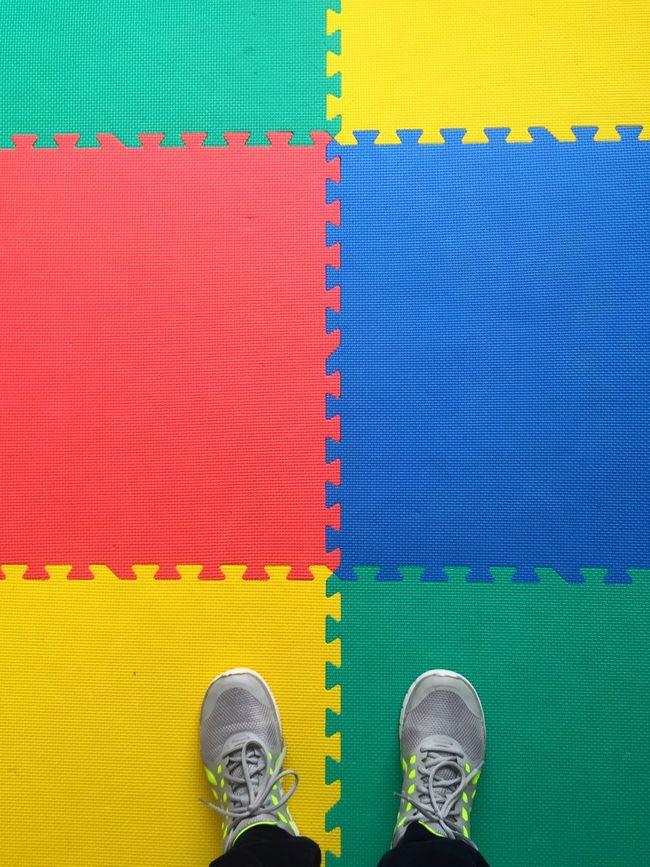 Pattern Pieces Playing Playground Counting Joy Children Playing Joyfullife Joyful Colors Squares Are Cooler