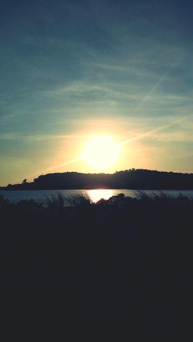 no matter sunrise or sunset it's still look great & same... ?