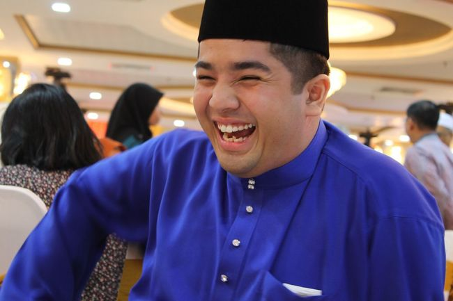 My big little brother ? he is so happy ? Kenduri Kahwin Shah Alam