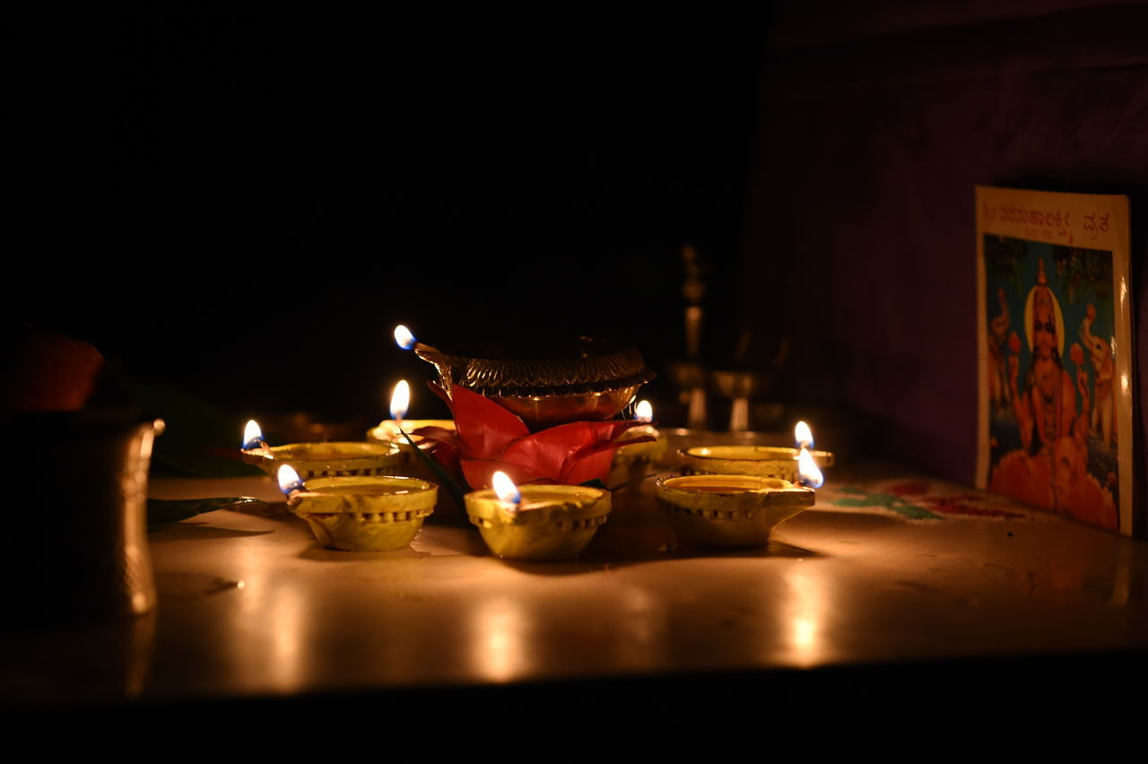 Disappear in the darkness Light And Shadow Dark Glowing Through The Dark India Festival Lights