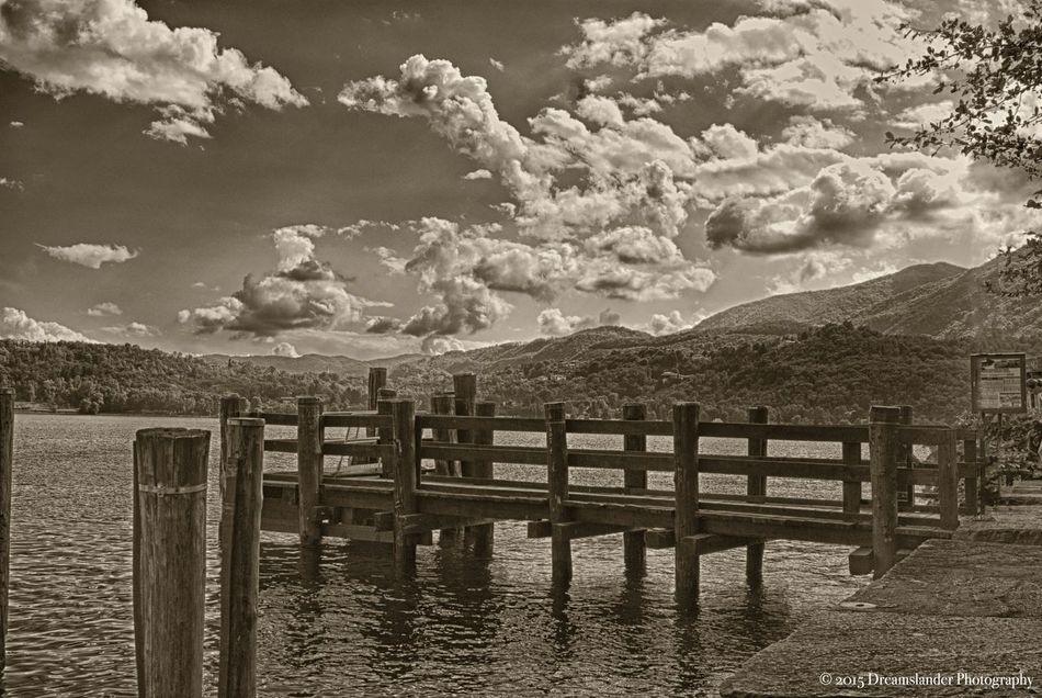 Monochromatic Blackandwhite Photography Black & White Monochrome Malinchonic Landscape Sea And Sky Lake View