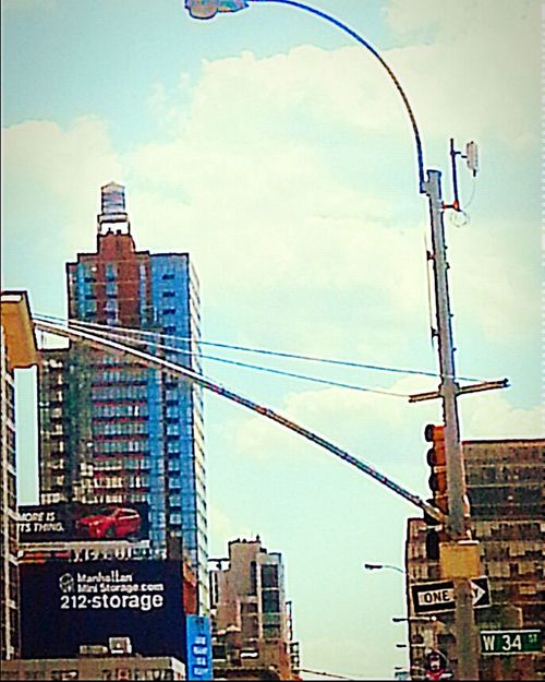 NYC Home Sweet Home Ilovenyc Ilovemylife 34th Street  Sunnyday☀️ Happiness Westchelsea 🌆🌃