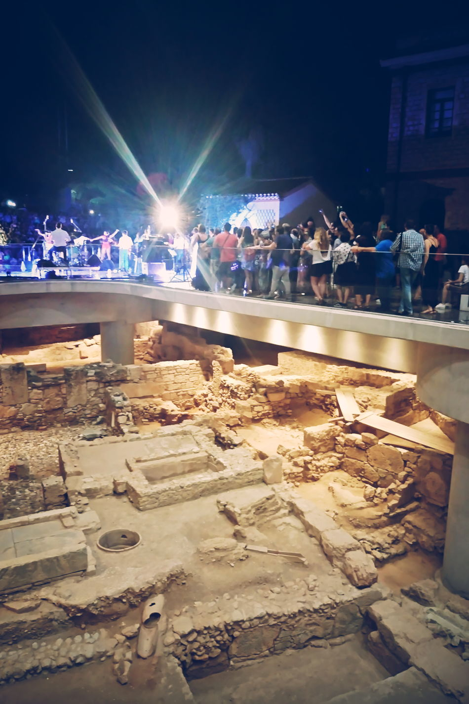 Concert Full Moon Party Athens, Greece Athens Greece Acropolis Museum Concert Photography Ruins From My Point Of View Mobile Photography EyeEm Best Shots Getting Inspired Eye4photography Acropolis, Athens Our Best Pics Museum EyeEm Masterclass Taking Photos Greek Old Ruin Sony Mobile Ancient Civilization Night Lights TakeoverContrast