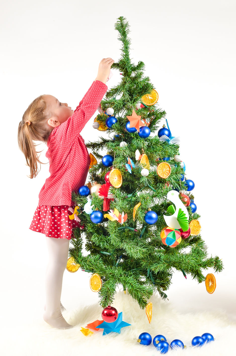 Beautiful stock photos of weihnachtsbaum,  2-3 Years,  Arms Raised,  Blond Hair,  Casual Clothing