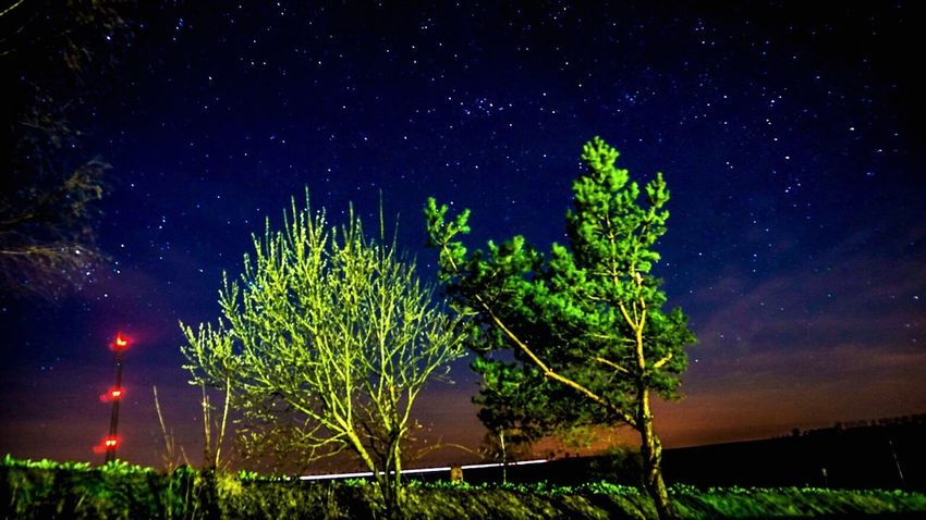 Urban Spring Fever Thuringen Stars Starry Sky Starry Night Starrynight Night Nightphotography Nightlights Sony A6000 EyeEm Best Shots Night Lights Easter Nature Photography EyeEm Nature Lover Nature_collection Under The Milky Way The Countryside At Night
