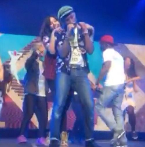For The Love Of Music My favourite moment, dancing on stage with my idol Pharrell! 🙌🏼❤️
