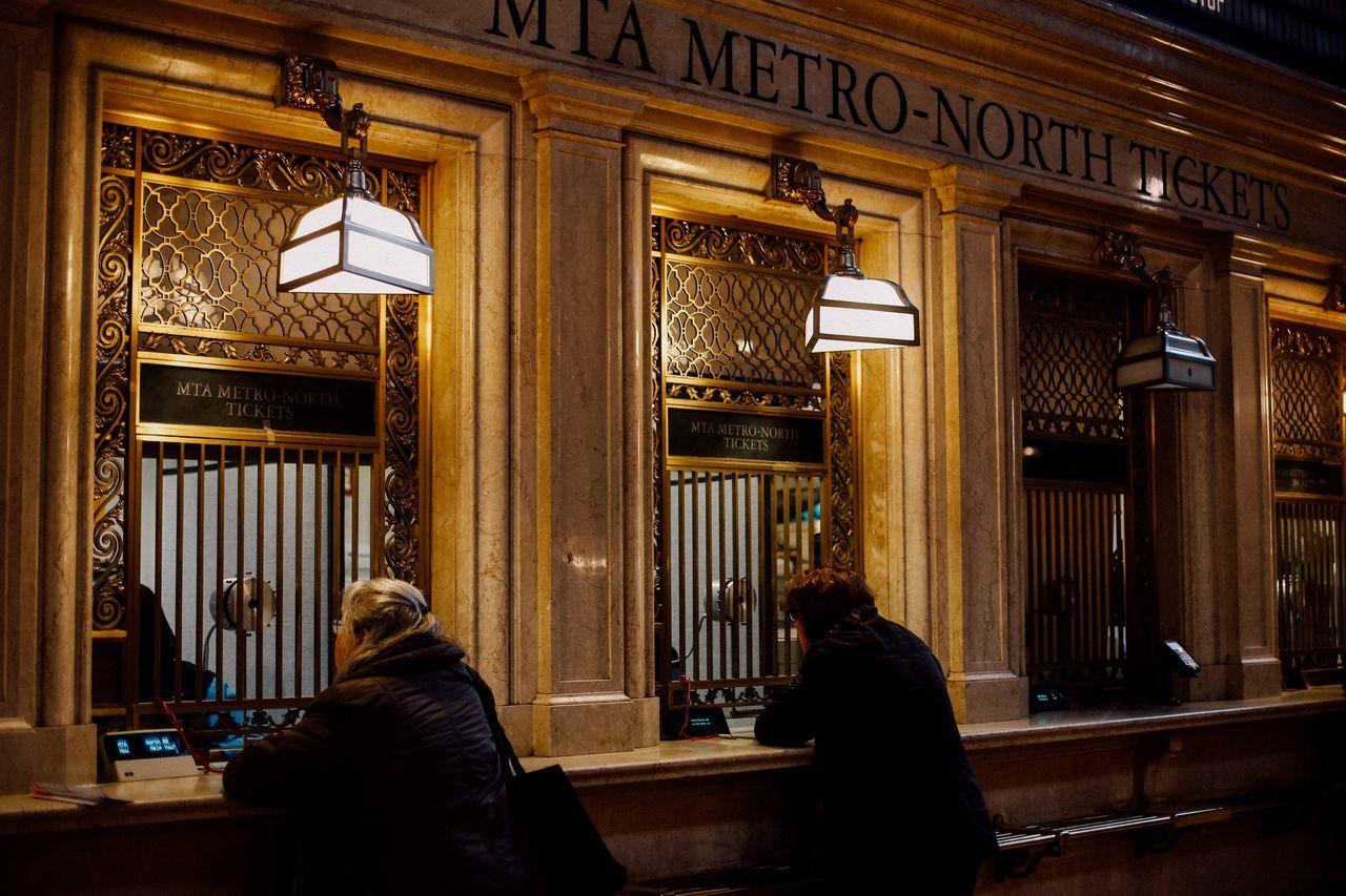 Train Train Station Grand Central Station Ticket Box Mta