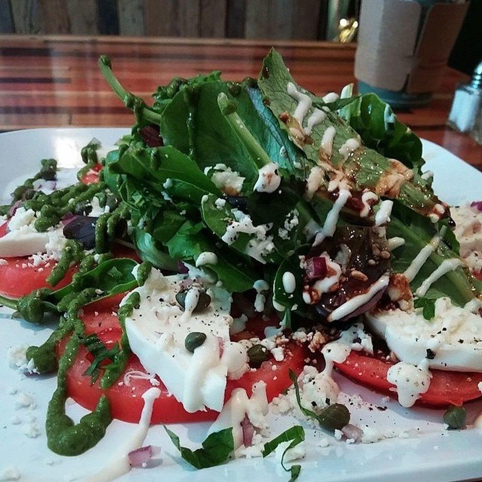 Tomato Caprese Trio Salad Hiblend Local Hawaii Natural Nongmo Salad Caprese Tomato Foodporn