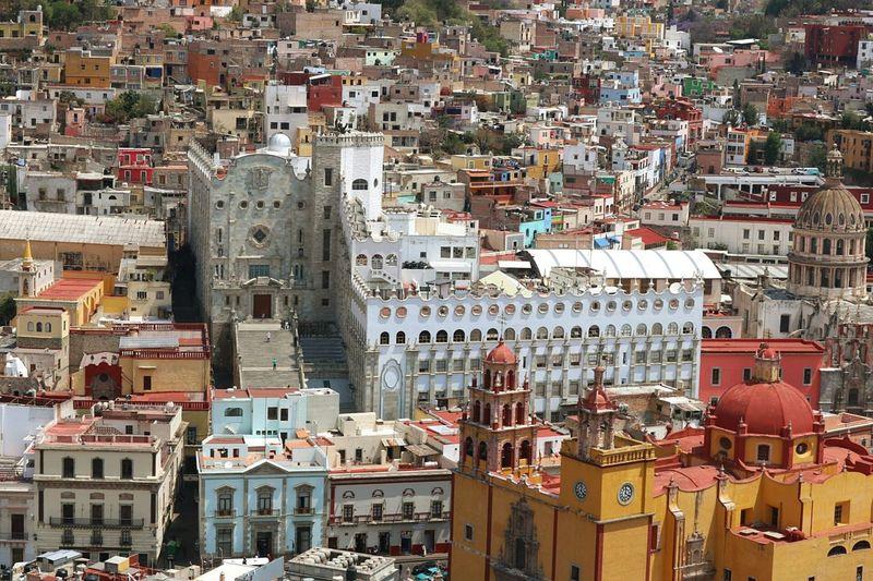 Mexico Architecture Guanajuato, México