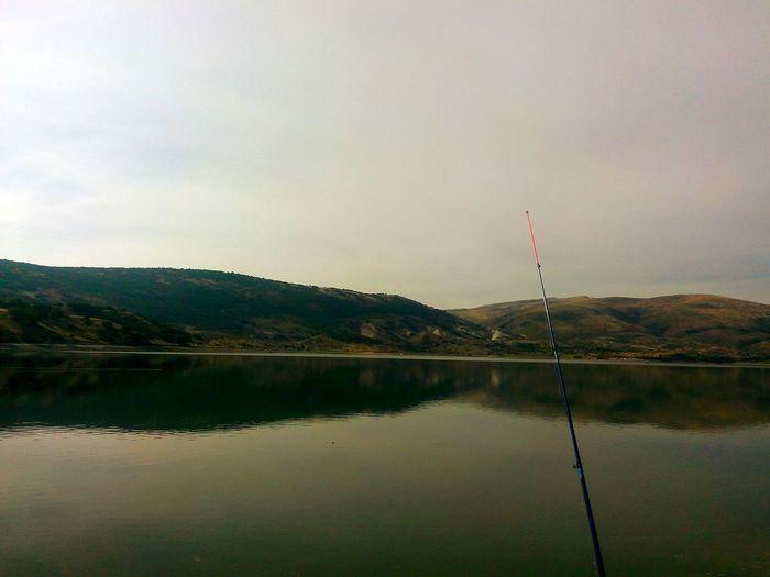 Reflection Reflection_collection Fishing Time Balık Avlamak Olta Barajgölü Fishing Rod Yansıma Yansımalar.. Barrage Lake