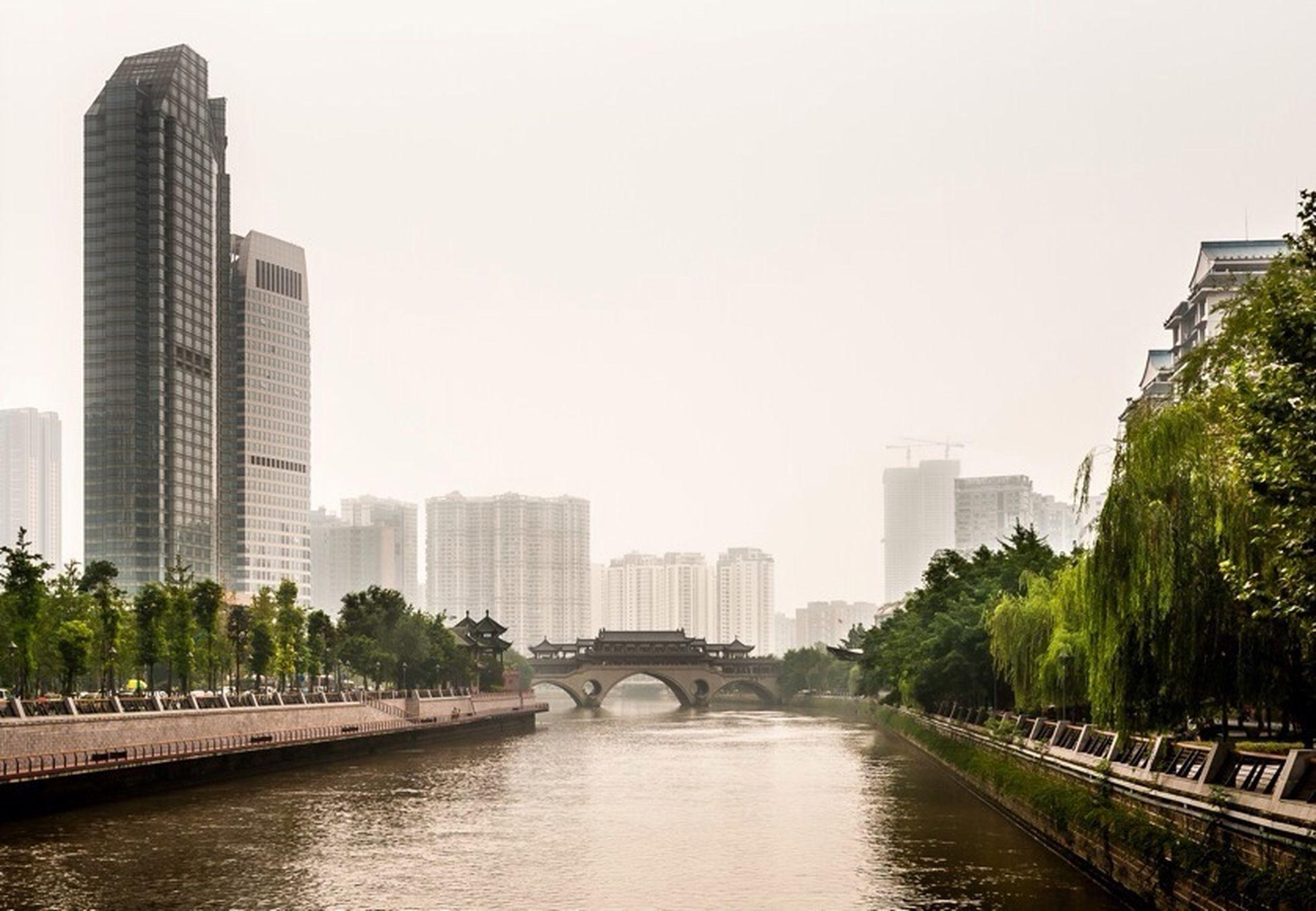 City Landscape Cityscapes Chengdu