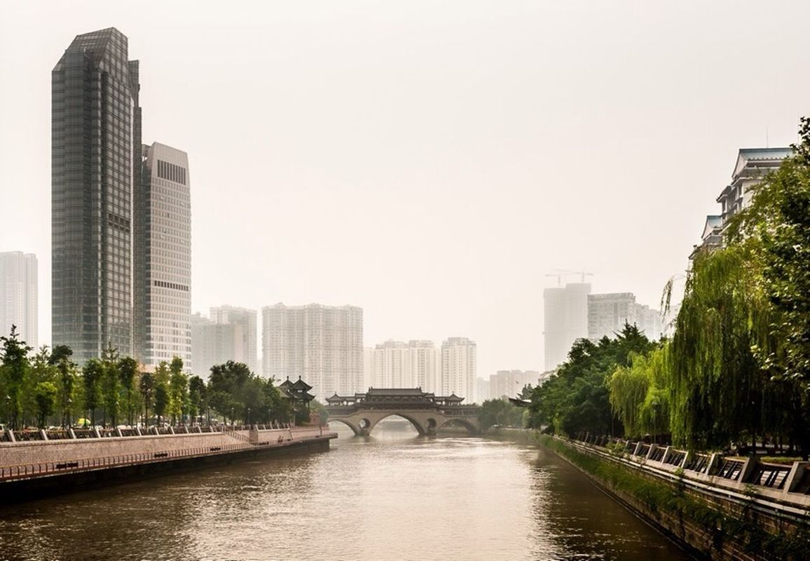 City landscape cityscapes Chengdu by PascalK