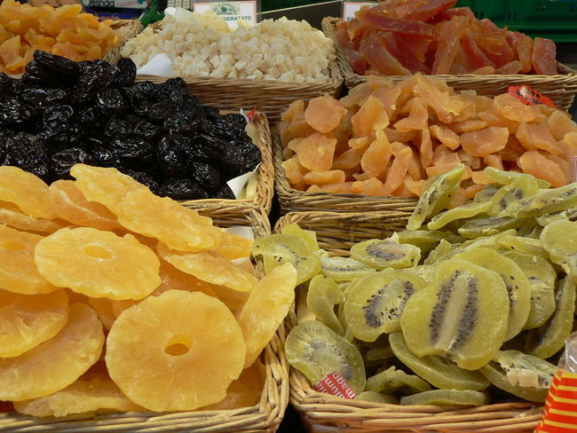 Christmas Market Close-up Dried Fruit Food Food And Drink Fruit Healthy Eating Temptation