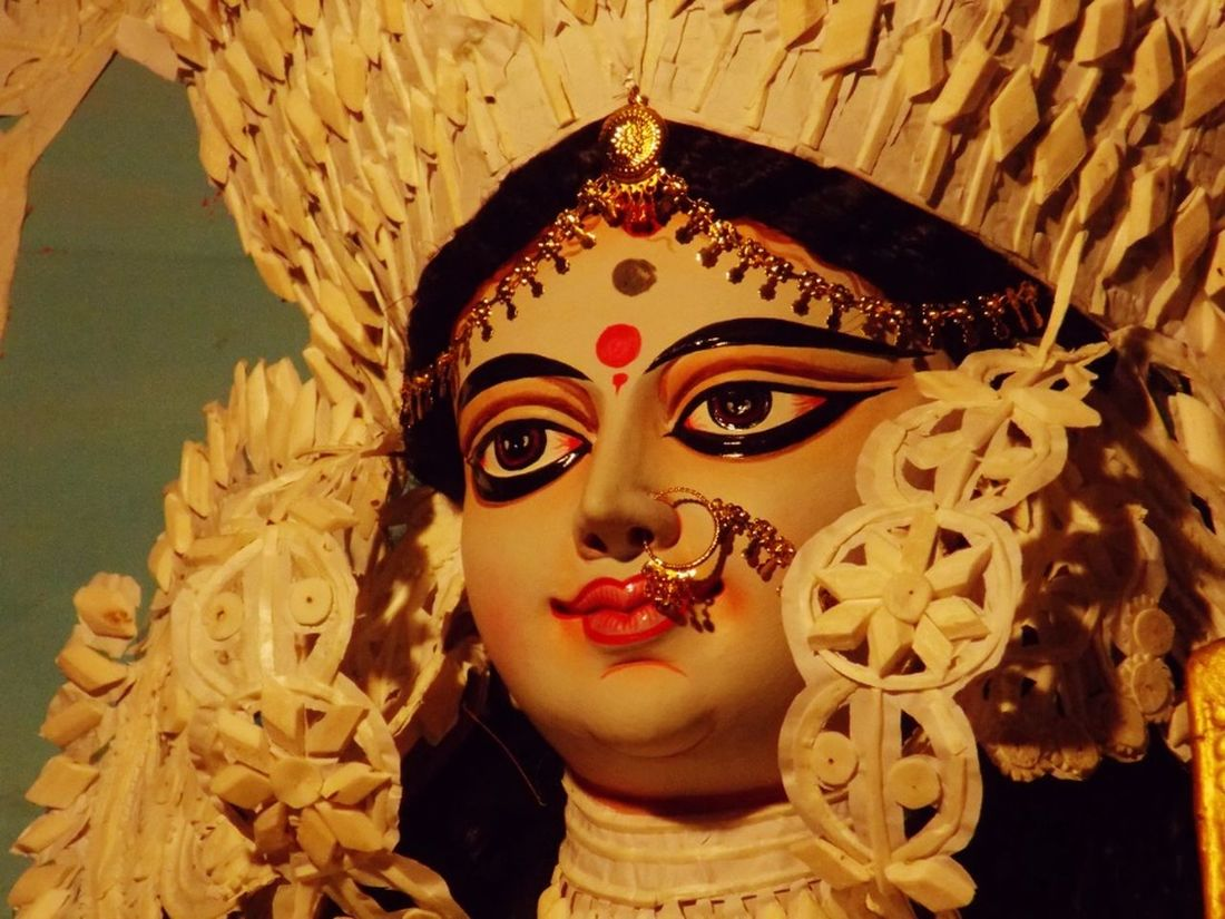 JAI MATA DI Taking Photos Eyem Best Shots Nikonphotography Eyemphotography India God Face Portrait