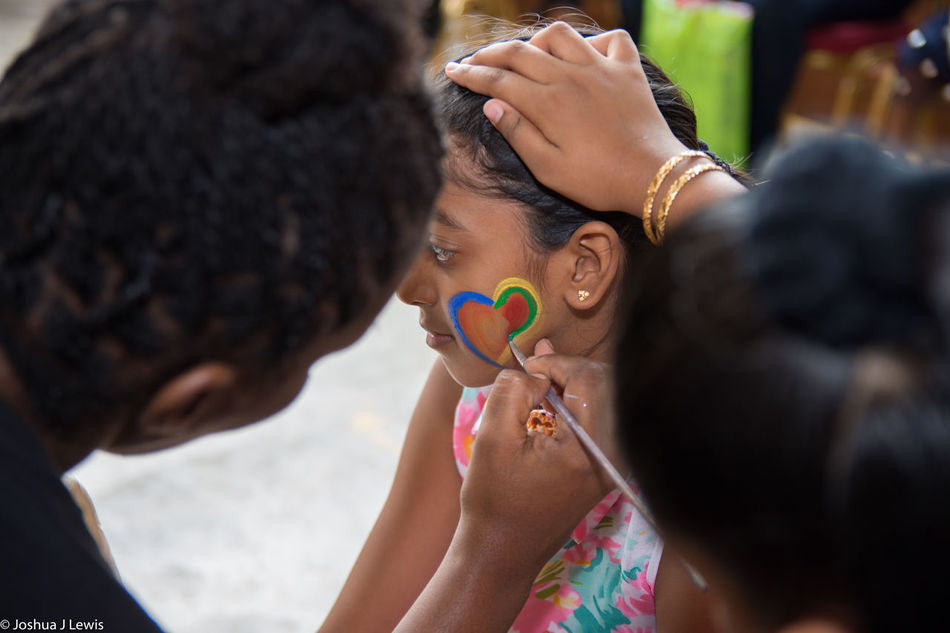 People Kids Childrenparty Facepainting Trinidad And Tobago Children Photography