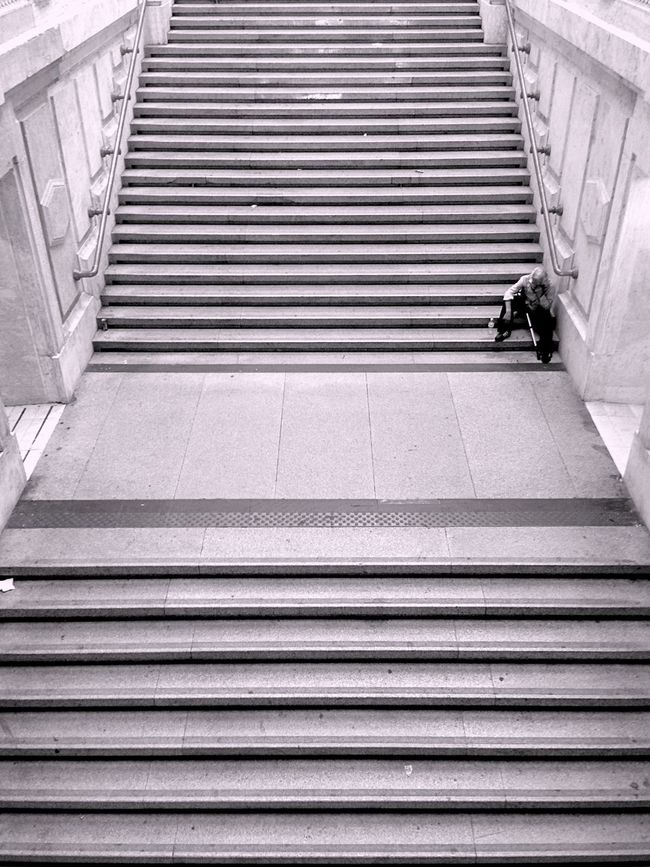 Unlikely Heroes Stairways Blackandwhite Monochrome Capturing Freedom Shades Of Grey Learn & Shoot: Simplicity B&w Street Photography
