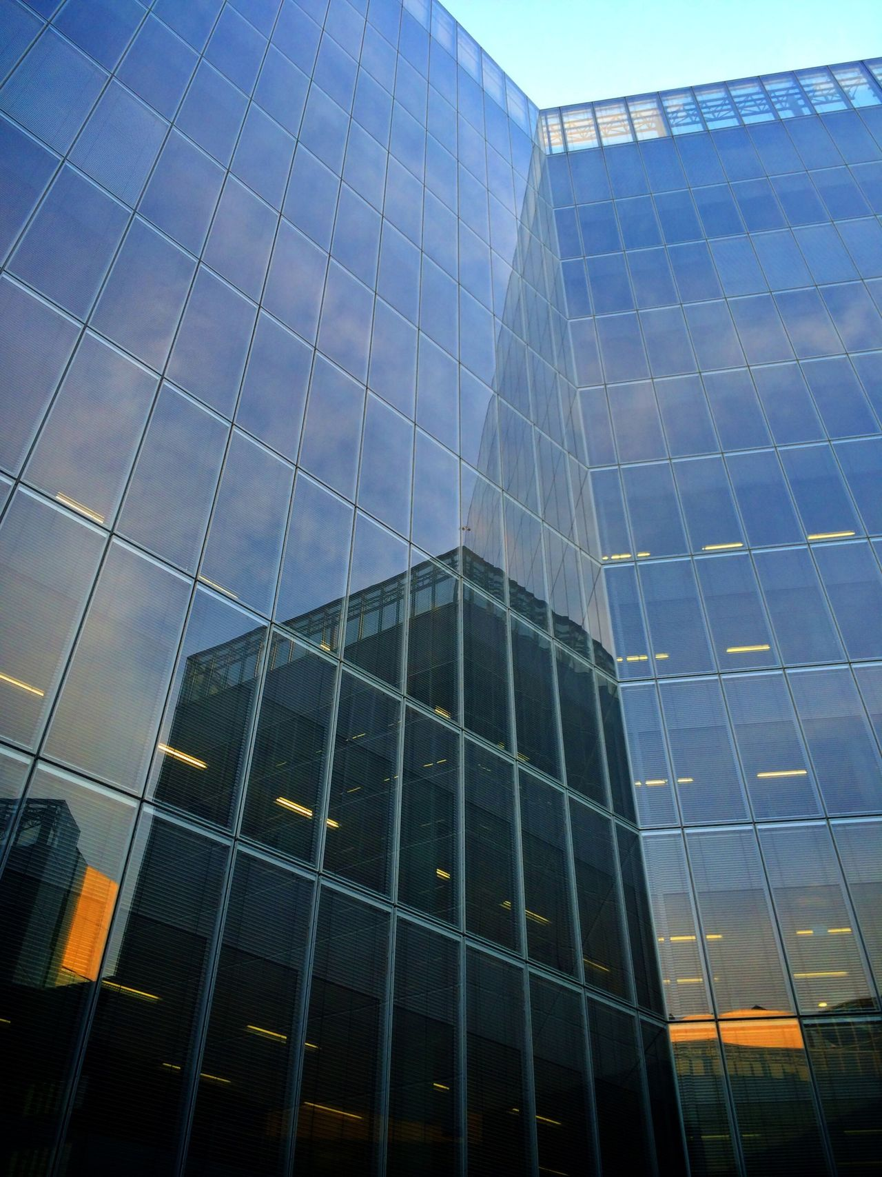 Buildings Architecture Urban Geometry Reflection