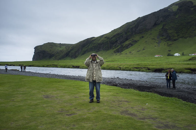 How Do You See Climate Change? Iceland Waterfalls Skogafoss Defrost Globalwarming