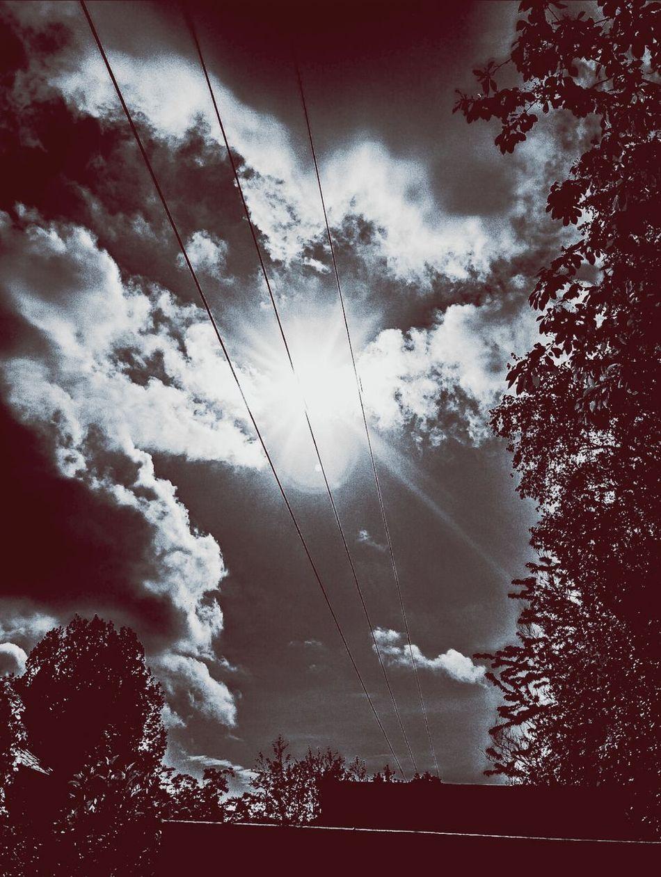 Sky Skyporn Celtic Beauty Sunshine Noir Clouds Drama Dramatic Sky Dramatic Blackandwhite Blackandwhite Photography