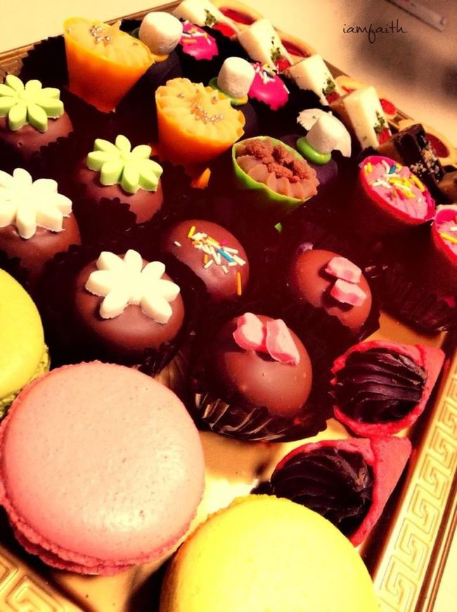 Cupcakes Candies Sweet Happy cupcakes and candies makes people happy :)