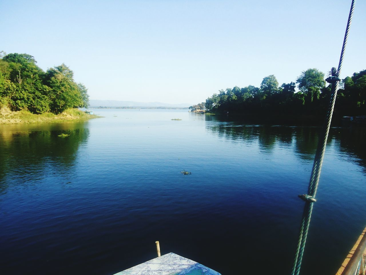 water, tree, nature, no people, river, tranquility, tranquil scene, outdoors, beauty in nature, day, clear sky, scenics, sky