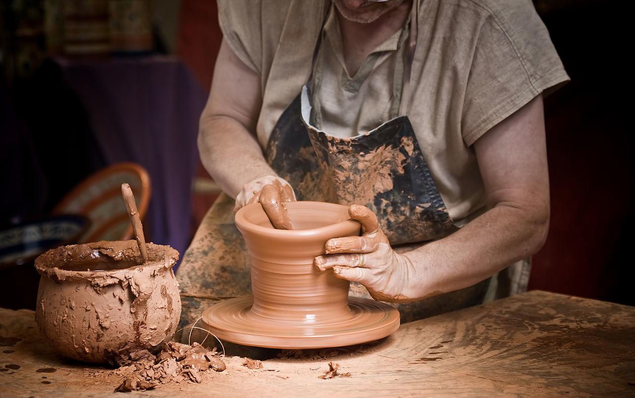 Beautiful stock photos of work, Art, Art And Craft, Clay, Craft