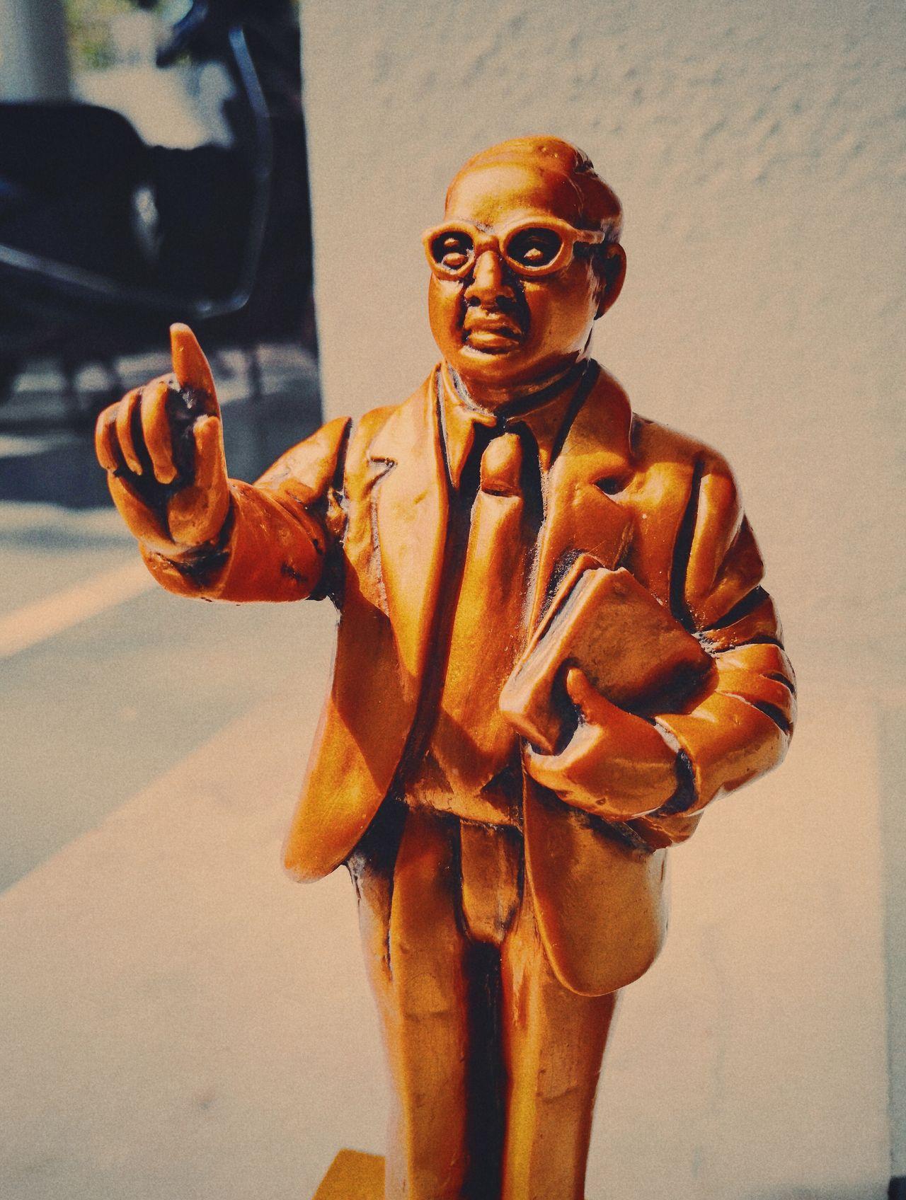 Dr. Br Ambedkar☮ Personality  India History Books Statue Portrait Idol Motivational First Eyeem Photo