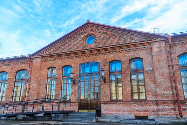Repository of Kizhi museum Arch Architecture Architecture_collection Beautiful Blue Building Exterior Built Structure Cloud - Sky Color Day Historical Building History No People Outdoors Russia Sky Spring Sunny Time Window
