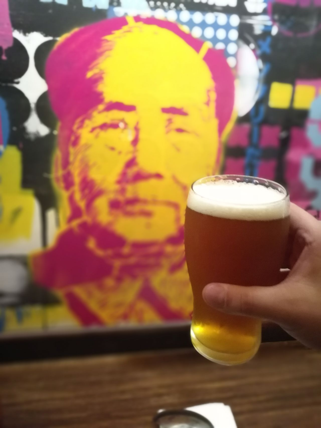 Beer - Alcohol Food And Drink Alcohol Human Hand Drink Beer Glass Mao Mao Tse-tung Mao Tse Tung Art ArtWork Happy Hour Bar Night City Finding New Frontiers